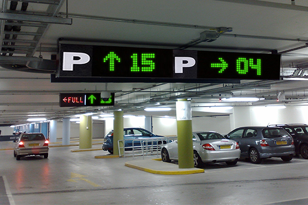 parking with smoother traffic flow